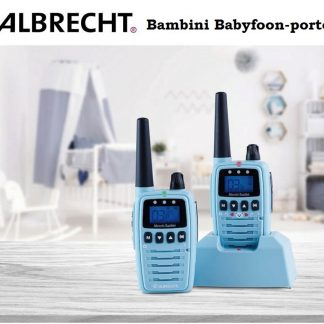 Albrecht Bambini babyfoon + portofoonset