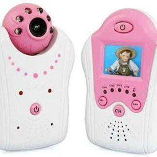 Compact Babyfoon Baby Monitor met Camera Roze
