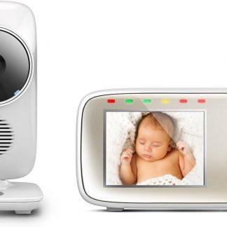"Motorola MBP-483 Babyfoon met camera 2.8"""