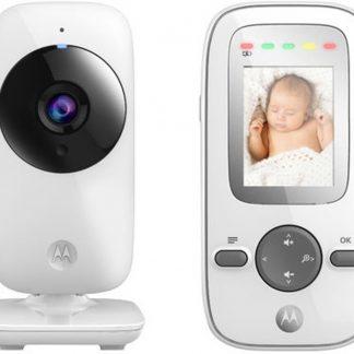 """Motorola MBP-481 Babyfoon met camera 2.0""""   Wit"""