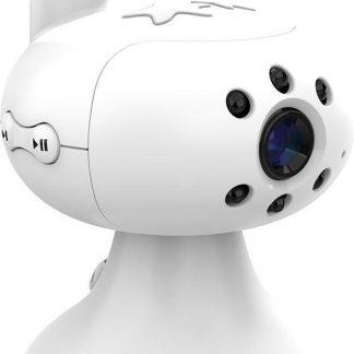 Babyfoon Miniboss MB-350   Babyphone met Digitaal Nachtzicht   Baby monitor met Temperatuursensor   Inclusief 2 Camera's - Wit