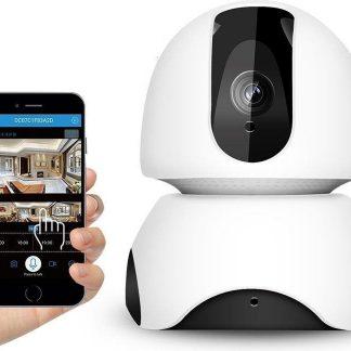 Tinderela ABM 300 Babyfoon / Baby Camera - tweezijdige communicatie en Nachtzicht