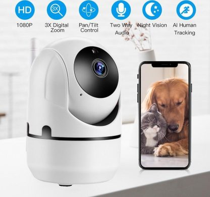 Babyfoon Met Camera 1080P Hd Video Baby Slapen Twee Weg Audio Nachtzicht Home Security babyfoon Camera
