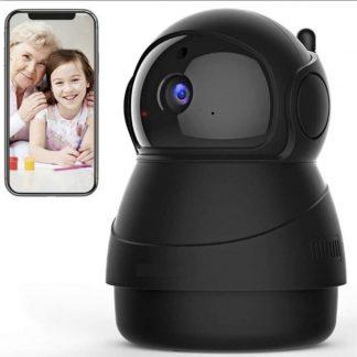Babysafepro X8 zwart - Babyfoon met camera 1080P FHD WiFi - Bewegingsdetectie - beveiligingscamera - ip camera - full hd