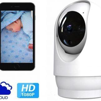 De Best Verkochte - Babyfoon Met Camera 2.0 - Beweeg En Geluidsdetectie - Met App - BS Producten - WiFi - Smart Camera