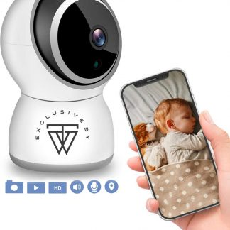 HD Wifi Babyfoon met Camera 308ZY - Bewakingscamera - iOS/Android App - Wit