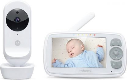 "Motorola Babymonitor EASE34 - babyfoon - 4.3"" scherm"
