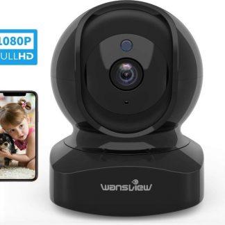 Wifi IP Baby Camera Monitor App Met Bewegingsherkennig Huisdieren 1080P
