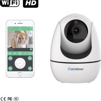 eLinkSmart WiFi Camera   Babyfoon met camera en app - Baby born   720P HD IP camera beveiliging   APP IOS Android   Beveiligingscamera binnen