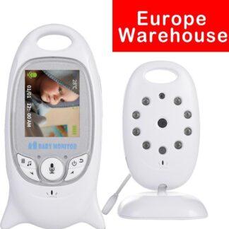 Babyfoon met camera VB601 terugspreekfunctie temperatuur en nachtzicht